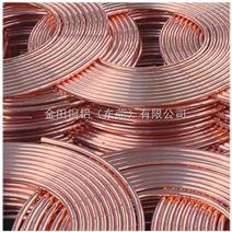 空调用C1020紫铜盘管 紫铜套 小口径紫铜管