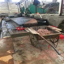88槽玻璃钢耐磨摇床面 铜米摇床回收设备