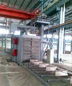 QH系列辊道通过式钢结构抛丸清理机