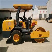 四吨双钢轮振动压路机生产厂家柴油压实机