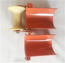 放線管口滑輪200mm直線滑輪尼龍輪
