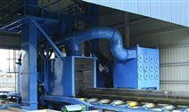 铝型材抛砂清理机 连续清理效率高