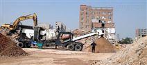 高产能建筑垃圾移动破碎站