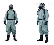 半封闭式轻型防化服外置式连体防化的服
