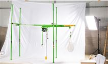 直滑式吊運機價格-室內小型吊機安裝視頻