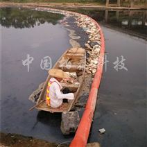 水面垃圾水草浮体 杭州40米河道拦污浮筒