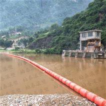 河道电站垃圾拦截浮体