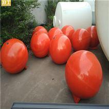 水上警示浮球定做尺寸运城抽沙船浮球