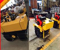 手扶式雙輪柴油壓路機 振動小型壓路機批發價格