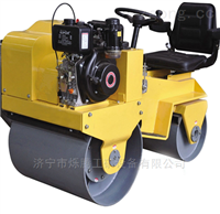 品质保障座驾式双钢轮压路机