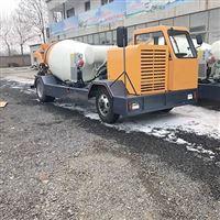 太原乡村修路用小型混凝土搅拌运输车厂家